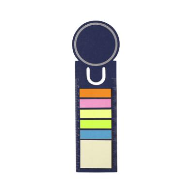Image of Bookmark and sticky notes.