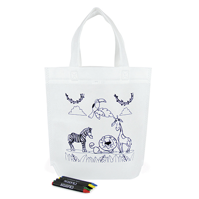 Image of Kids Colouring Bag