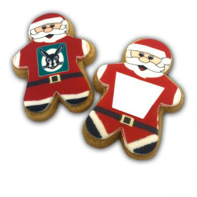 Image of Christmas Santa Shortbread