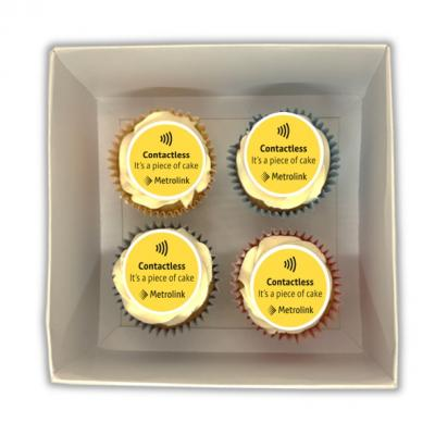 Image of Cupcake Gitfbox - 4 Pack
