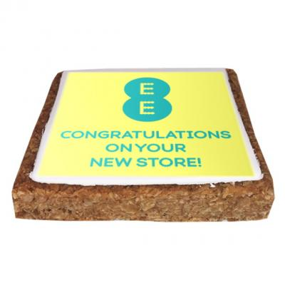 Image of Flapjack (5cm Square, Iced)