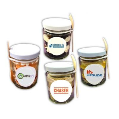 Image of 4 Cake Jars (Strawberry)