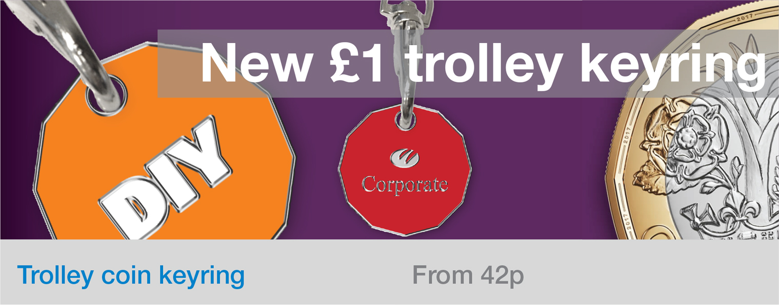 New shape trolley coin