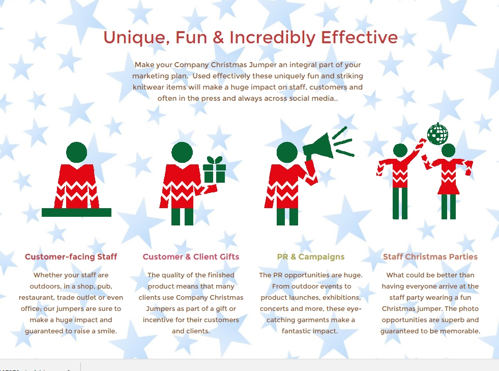 Promotional Christmas Jumpers Icons